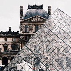 FOR THE HONEYMOON    Le louvre, France    NOVELA BRIDE...where the modern romantics play & plan the most stylish weddings... www.novelabride.com @novelabride #jointheclique