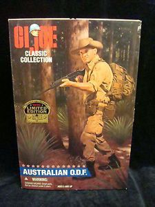 Items similar to GI Joe 1996 Classic Collection Limited Edition Australian O. in original box on Etsy Vintage Toys 1970s, Retro Toys, Retro Vintage, Gi Joe, London Tourist Guide, Military Action Figures, Jeep Willys, Antique Toys, Classic Collection