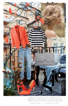 """""""orange"""" by emira-besirovic ❤ liked on Polyvore featuring Whiteley, White House Black Market, J.Crew, LE3NO, Ted Baker, Vince, Burberry, women's clothing, women and female"""