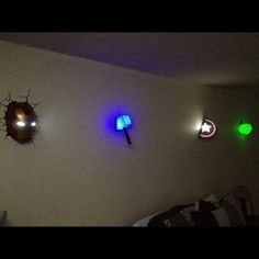 """OMG! I needa do this!!! XD lol it looks like Iron Mans head is stuck in the wall XD !! The guy who plays Iron Man (Robert Downey Jr -aka - RDJ) scares my friend izzy, so I said to her """"I guess that's what he gets, after he takes off that helmet he gives u night mares!"""" XD @InfinityDancing  OH and OMG izzy just GETS ME!!! She sent this pic and said """"found this, thought u would like it!"""" Thanks izzzzyyyy luv u!"""