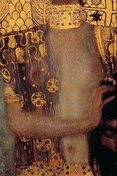 """Judith I"" (detail), 1902, Gustav Klimt."