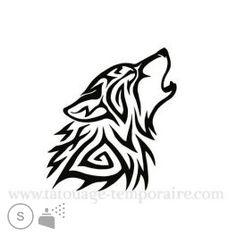 Pochoir Le Loup