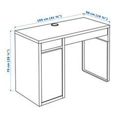 Schreibtisch ikea micke  Micke | Work stations, Extra rooms and Desks