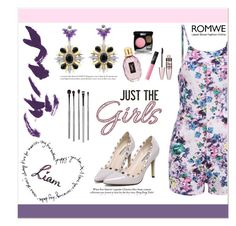 """Just The Girls"" by aminkicakloko ❤ liked on Polyvore featuring Payne, Chanel, NARS Cosmetics, Maybelline, esum and romwe"