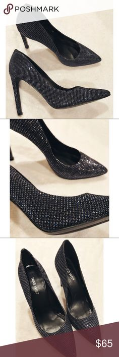 Nine West • Blue Sparkle Heels Nine West • NWOT Sparkle Heels. GORGEOUS Blue sparkle heels. Size 7.5. These are seriously so pretty!! Never worn. Nine West Shoes Heels