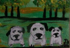 Dog Artist, Outsider Art, The Outsiders, Asia, Signs, The Originals, Painting, Ebay, Shop Signs