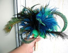 more peacock feathers