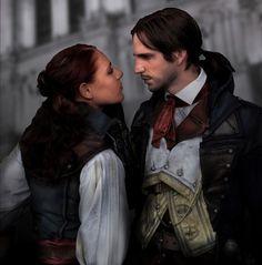 Unity - Arno Dorian and Elise de La Serre cosplay by RBF-productions-NL