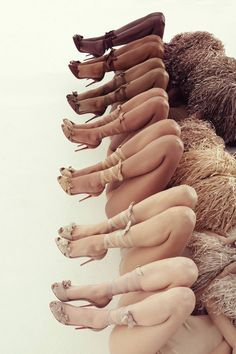 "Oh Heck Yes: Christian Louboutin Releases Even More ""Nude"" Heels For Every Skin Tone"