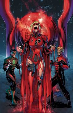 GREEN LANTERN/RED LANTERNS #28 Written by ROBERT VENDITTI and CHARLES SOULE Art by BILLY TAN and ALESSANDRO VITTI GREEN LANTERN Cover by BILLY TAN RED LANTERNS Cover by STEPHEN SEGOVIA