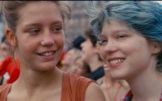 映画「アデル、ブルーは熱い色」 平成26年4月5日公開 ★★★☆☆原作BD「ブルーは熱い色」 ジュリーマロ Du books 教師を夢見る高校生アデル(ア…