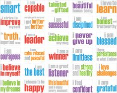 Affirmation Posters for Children