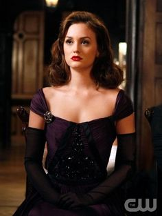 "blair waldorf in flashback ""all about eve"" 3.06"
