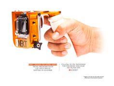 Gopro hero 3 trigger grip allows one handed operation of shutter button. Gopro accessories  #goknekt #goprotrigger