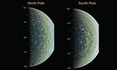 Primeros descubrimientos hechos en Júpiter por la sonda espacial Juno — Noticias de la Ciencia y la Tecnología (Amazings® / NCYT®)