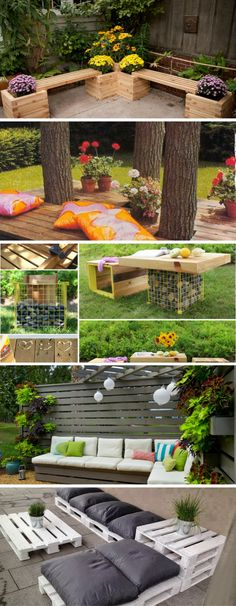 17 Fascinating DIY Seating Elements To Enhance Your Outdoor Space