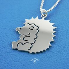 FREE SHIPPING Hedgehog necklace Hedgehog Jewelry от BorowskiStore