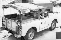 Land Rover 88 Serie II Soft Top Canvas. History ever goods lifes.