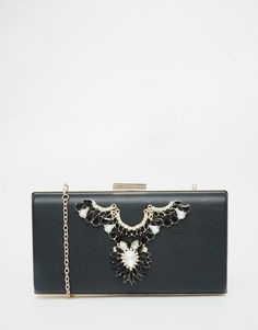 Chi+Chi+Box+Clutch+Bag+with+Embellishment