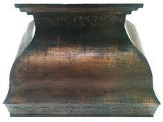 handcrafted copper hood