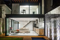 House 7x37,© Rafaela Netto
