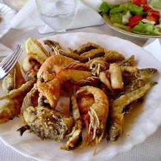 Fritto di paranza @ Sunrise Agri-food, Vasto, Abruzzo