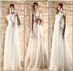 Para las novias más románticas y soñadoras, una colección perfecta de la firma DelPozo. #delpozo #novias #bodas
