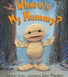 Where's My Mummy?-book with many activities to go with the story, as well as…