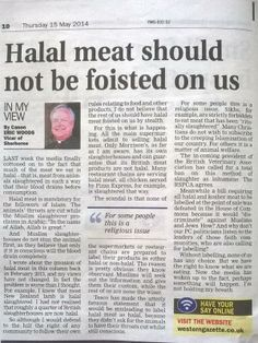 [UPDATED!] FINALLY! Church of England Vicar speaks out against halalification and Islamization of UK and Muslims are outraged that the Bisho... 05/19/14