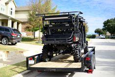 Custom built by Carey @ Big Country Outdoors. Polaris Off Road, Polaris Atv, 2019 Ranger, Polaris Ranger Crew, Predator Hunting, Big Country, Roll Cage, Great Pic, Navy Seals