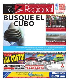 Periódico El Regional - Edición 825  22 de julio de 2015