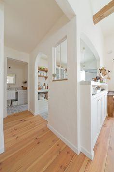 2階LDK太陽の光をたくさん取り込んだフレンチスタイルハウス ウエストビルドの写真集 Restaurant Design, Decoration, Kitchen Dining, Building A House, Bathtub, Woodworking, Indoor, House Design, Interior