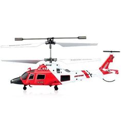 RC Simulation Military Helicopter 3.5 Channel Flight Controls Lithium Battery #SYMA