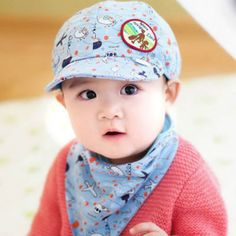 247e085a3dd 2017 New 5 Colors New Baby Kids Toodler Boy Girl Cotton Hat Fashion Children  Summer Sun Baseball Cute Beret Cap Free Shipping-in Hats   Caps from Mother  ...