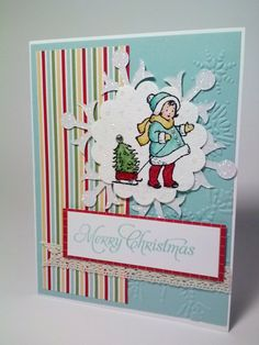 Here is my card for this week's Freshly Made Sketches :-) I am making a lot of Christmas cards to send out, and trying to make differ...