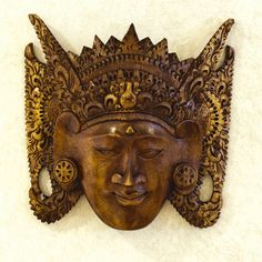 Traditional Balinese mask at the Pantai Inn - La Jolla, CA
