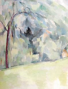 Paul Cézanne  Morning in Provence  1906  Oil on canvas Albrigth-Knox Art Gallery Buffalo New York