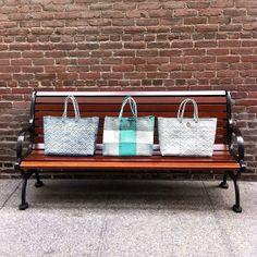 Beach bags, city dreams.