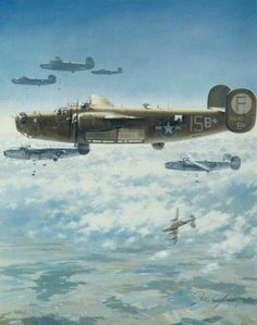 An admiration of the beauty of the classic warbirds. Ww2 Aircraft, Fighter Aircraft, Military Aircraft, Aircraft Photos, Air Fighter, Fighter Jets, Aircraft Painting, Airplane Art, Ww2 Planes