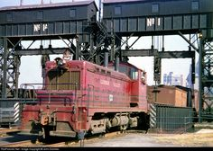 RailPictures.Net Photo: LV 108 Lehigh Valley EMC SW at Jersey City, New Jersey by John Dziobko