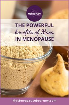 Benefits of Maca Root   Dive into the wonderful world of Maca and determine how it can help women in menopause! Benefits Of Maca // Superfood Maca // Superfood For Menopause #macaherbbenefits #macaroot #macarootpowder #macarecipes Maca Superfood, Superfood Salad, Superfood Recipes, Maca Maca, Menopause Diet, Menopause Relief, Maca Benefits, Maca Root Powder