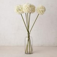 Faux Flower Head Stems