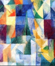 Prismatic Eiffel Tower - Robert Delaunay