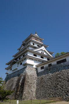 Kumamoto, Kyushu, Japanese Architecture, 3d Architecture, Himeji Castle, Japan Landscape, Japanese Castle, Asian History, Fukuoka