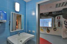 [ Younhyun Tile / 윤현상재 타일 ] Color Tile : Color System / Reparto Pediatria Ospedale Causa Pia Luvini Cittiglio, Italy 이탈리아 종합병원 유아병동