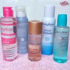 Linha facial #rubyrose nesta linha temos um ótimo kit para limpeza da pele, para o dia a dia, com o SABONE MOUSSE você pode usar para tirar… Beauty Tips For Skin, Beauty Hacks, Hair Beauty, Ruby Rose, Cheap Makeup, Makeup Dupes, Perfume, Perfect Makeup, Spa Day