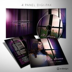 4 panel digi pak album cover. #graphicdesign #graphicartist #design #creative #music #art #illustration #albumcover #album #music #artdirection #musicartist #church #worship #typography #branding
