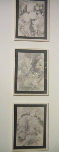Tres bocetos para pinturas. Lápiz y papel. 49 x 35 cm. Fechas diversas.