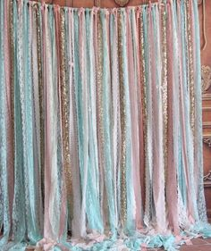 This mint lace fabric pink,sparkle sequin photo booth photobooth backdrop Wedding ceremony stage,birthday,party curtain backdrop garland decor is just one of the custom, handmade pieces you'll find in our backdrops & props shops. Decor Photobooth, Party Kulissen, Mint Party, Party Ideas, Birthday Decorations, Wedding Decorations, Birthday Backdrop, Diy Photo Backdrop, Diy Party Photo Booth