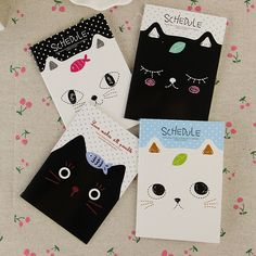 Cute Cat Notebook //Price: $9.99 & FREE Shipping //     #lovekittens #adorable #catlover